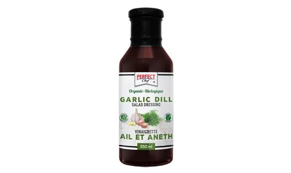 Organic Garlic Dill Salad Dressing
