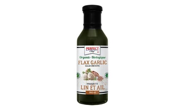 Organic Flax Garlic Salad Dressing