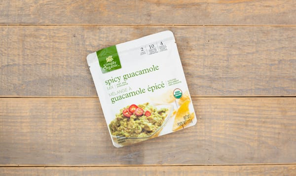 Organic Spicy Guacamole Mix