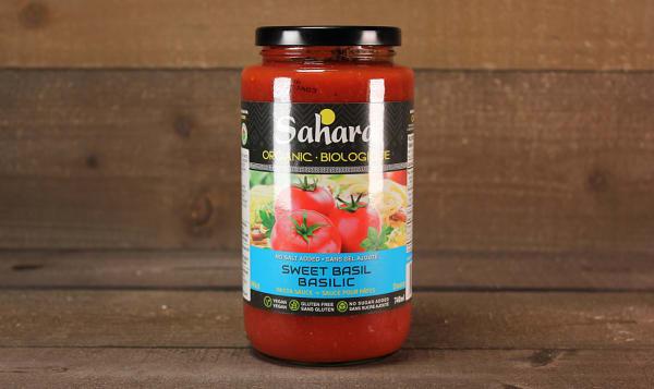 Organic Basil Pasta Sauce -  No Salt/Sugar