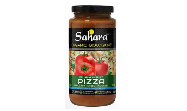 Organic Italian Herbs Mild Pizza Sauce - No Salt