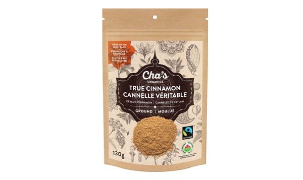 Organic True Cinnamon, Ground