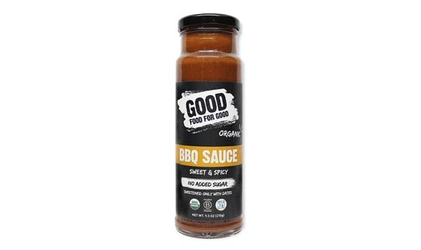 Organic Sweet & Spicy BBQ Sauce