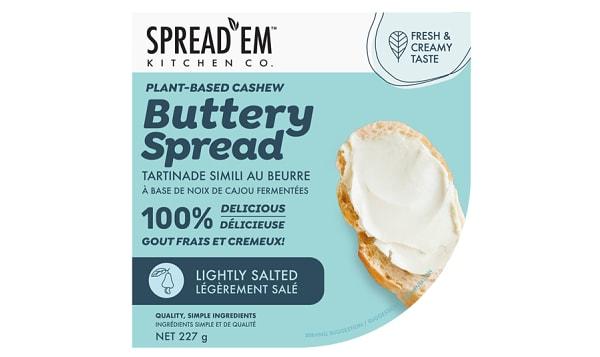 Fermented Cashew Buttery Spread