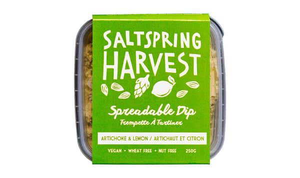Artichoke and Lemon Spreadable Dip
