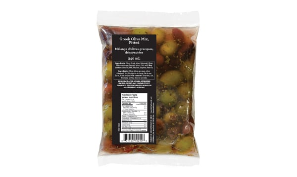 Greek Olive Mix Pouch