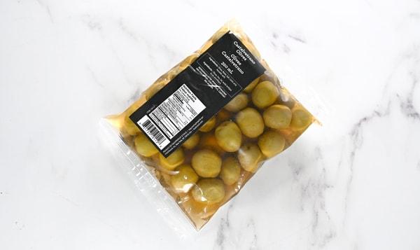 Castelvetrano Olive Pouch