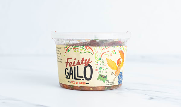 Fresh Pico de Gallo, Medium - Feisty Gallo