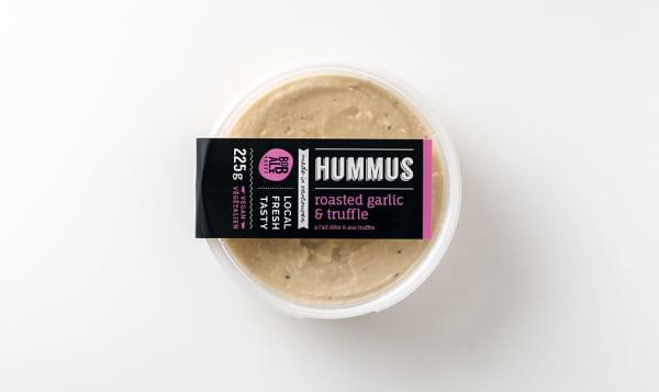 Roasted Garlic & Truffle Hummus