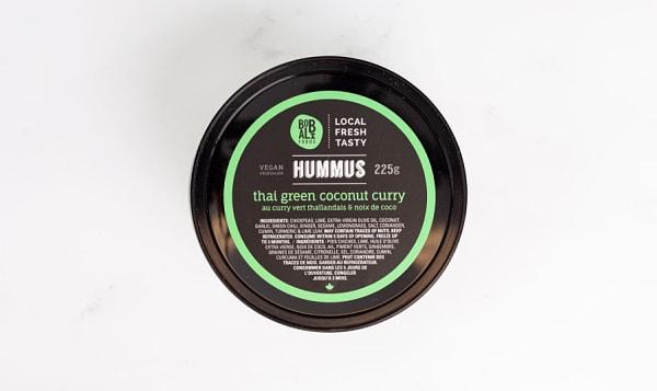 Thai Green Coconut Curry Hummus