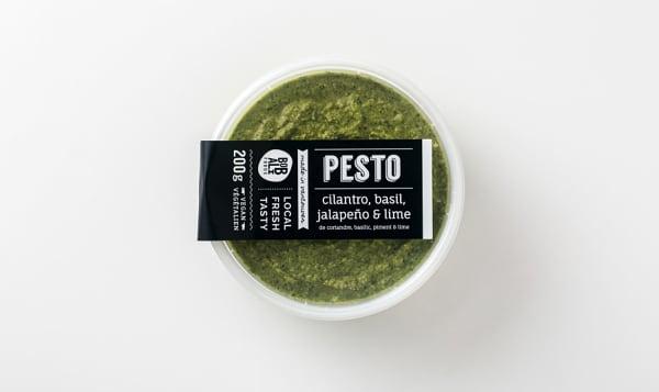 Cilantro, Basil & Jalapeno Pesto