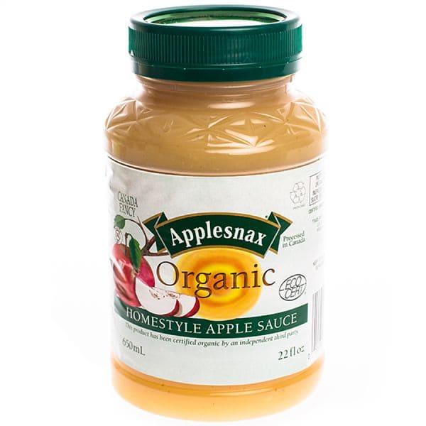 Organic Homestyle Applesauce