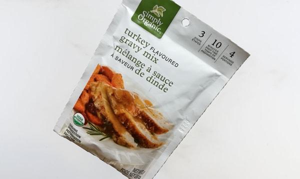 Organic Roasted Turkey Gravy Mix