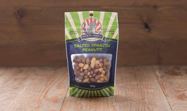 Salted Spanish Peanuts - Fresh Roasted Nuts