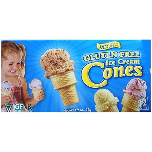 Gluten Free Ice Cream Cones