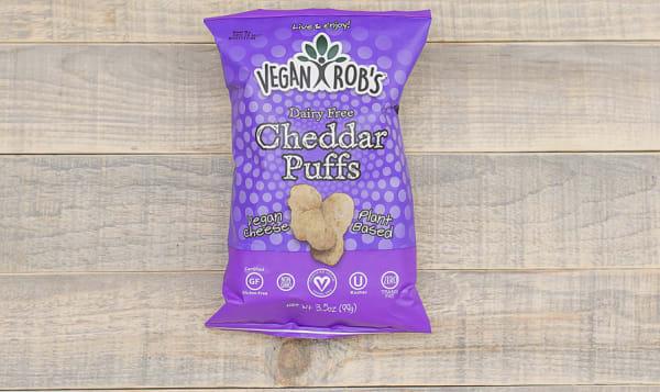 Dairy Free Cheddar Puffs