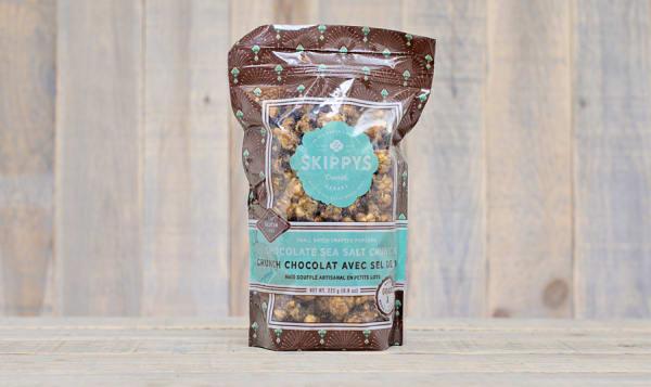 Sea Salt Chocolate Caramel Crunch Popcorn