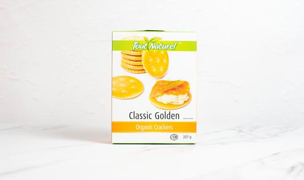 Organic Golden Crackers