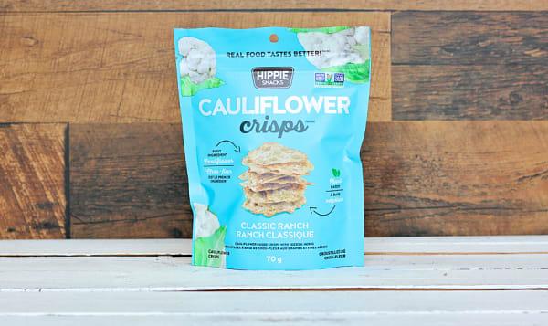 Classic Ranch Cauliflower Crisps