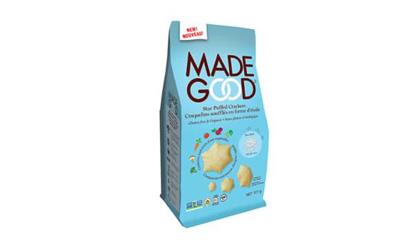 Organic Star Puffed Crackers - Sea Salt