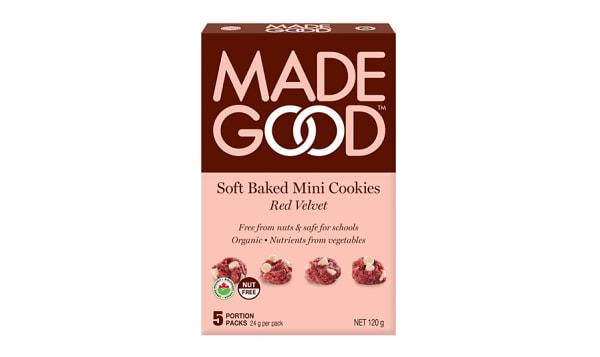 Organic Mini Cookies - Red Velvet