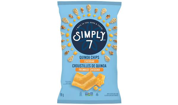 Cheddar Quinoa Chips