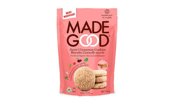 Organic Crunchy Cookies - Sweet Cinnamon