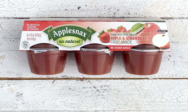 Apple & Strawberry Cups
