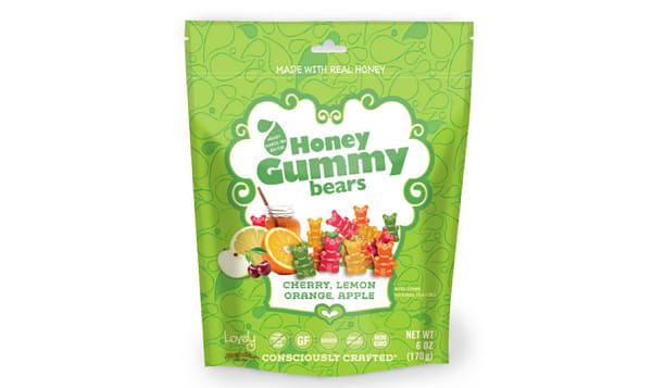 Honey Gummy Bears - Fruit