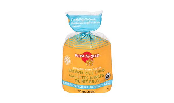Organic Rice Thins - Quinoa