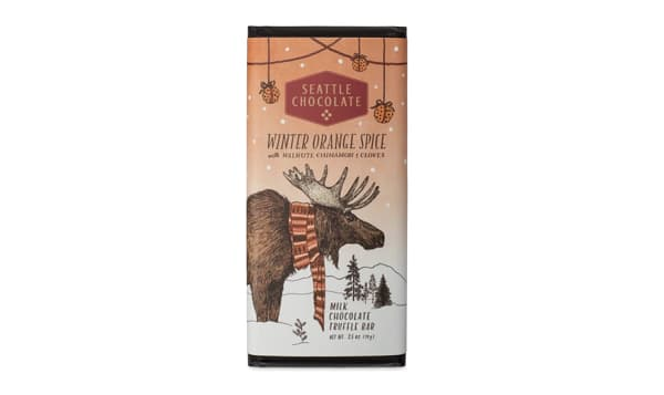 Winter Orange Spice Truffle Bar