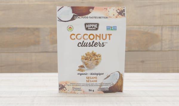 Organic Coconut Clusters - Sesame