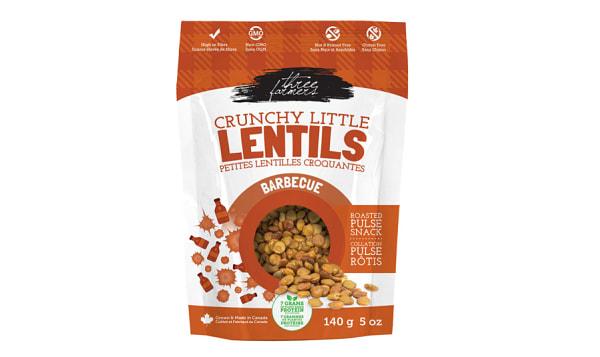 Crunchy Little Lentils - BBQ