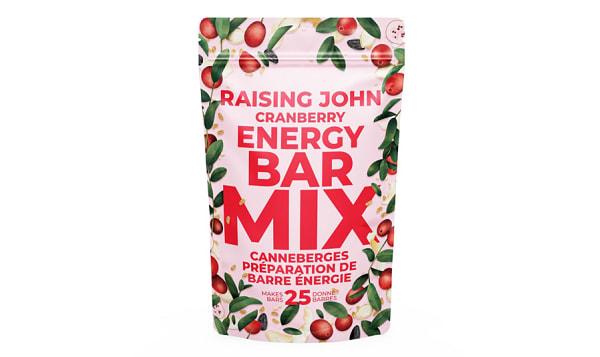 Organic Cranberry Energy Bar Mix