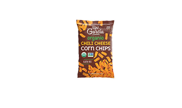 Organic Corn Chips - Chili Cheese