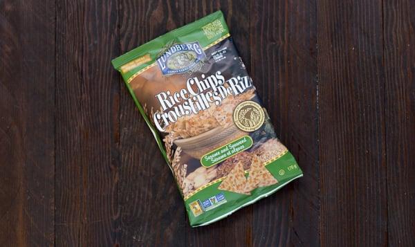 Rice Chips - Sesame & Seaweed