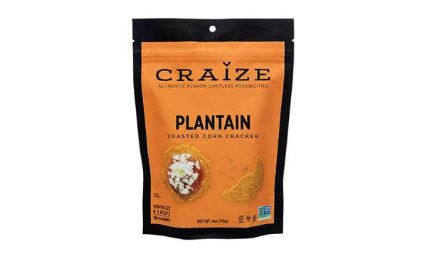 Plantain Toasted Corn Crisp