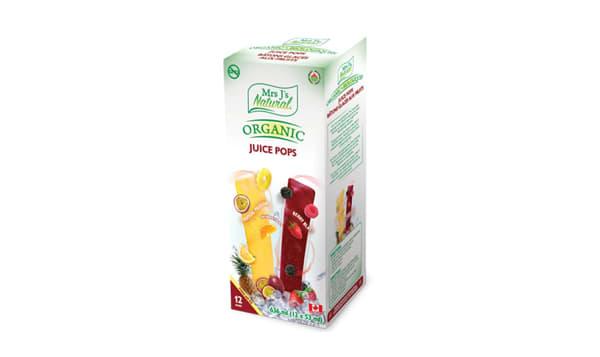Organic Juice Pops - Tropical Passion & Berry Blast