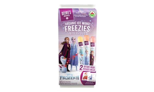Organic Frozen II - Ice Wand Freezies