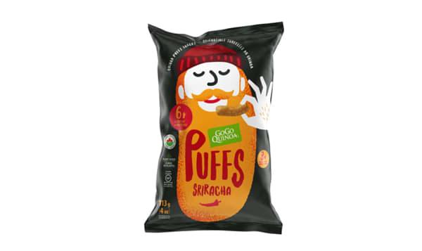 Organic Sriracha Puffs