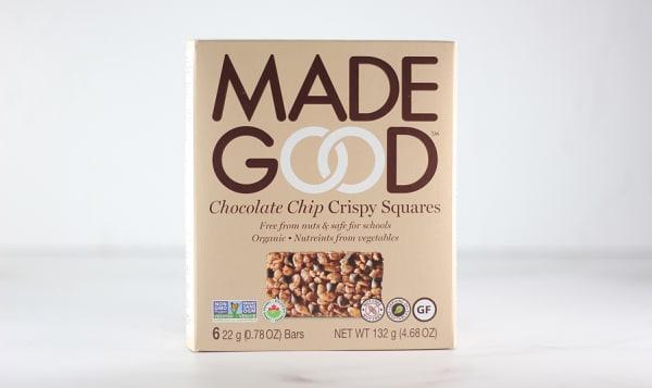 Organic Crispy Squares - Chocolate Chip