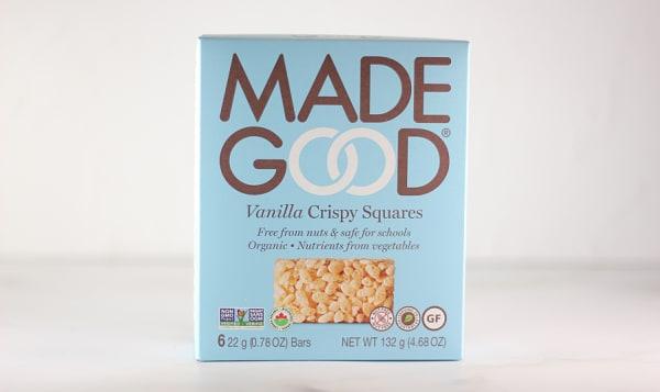 Organic Crispy Squares - Vanilla