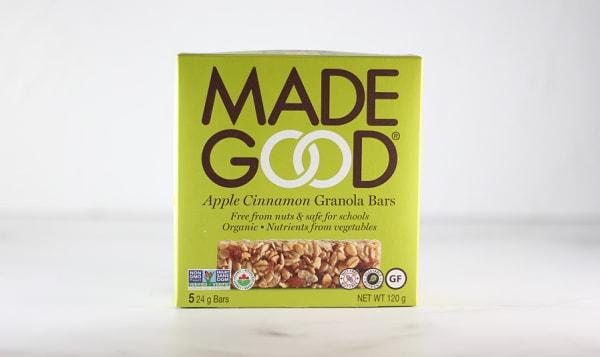 Organic Granola Bars - Apple Cinnamon