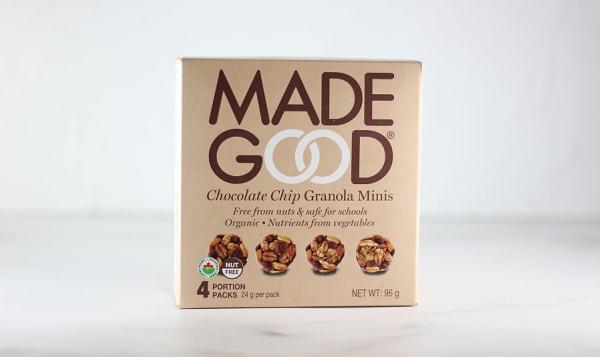 Organic Mini Chocolate Chip Granola Bars