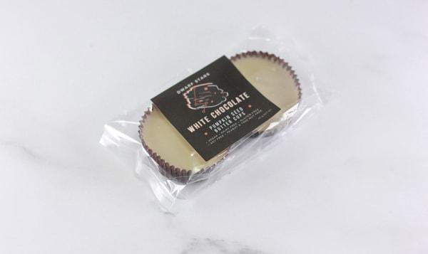 White Chocolate Pumpkin Seed Buttercups