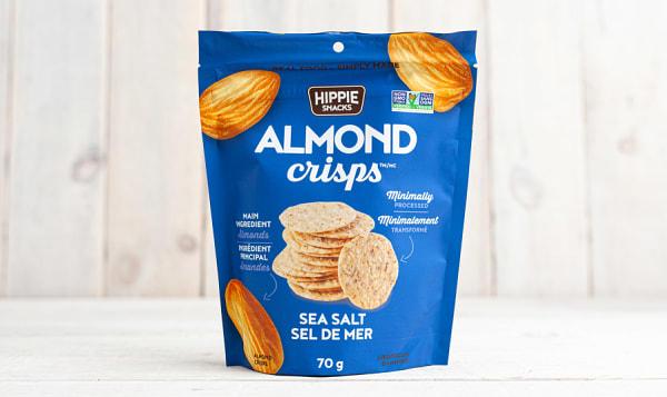 Almond Crisps - Sea Salt