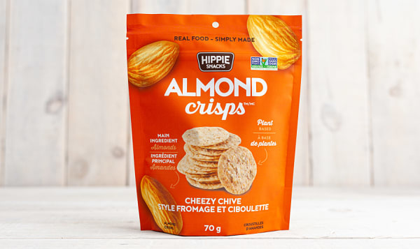 Almond Crisps - Cheezy Chive