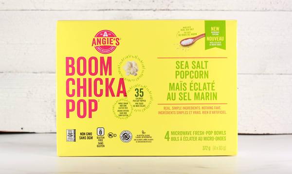 Microwave Popcorn - Sea Salt