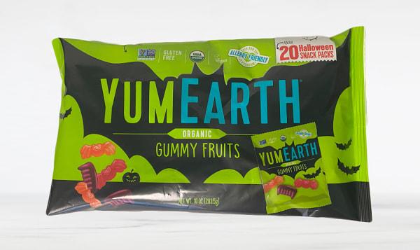 Organic Halloween Gummy Fruits