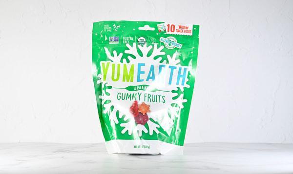 Organic Holiday Gummy Fruits